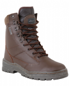 PATROL BOOTS BROWN - ALL LEATHER